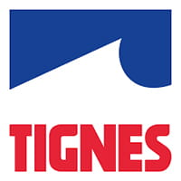 Ski resort logo Tignes