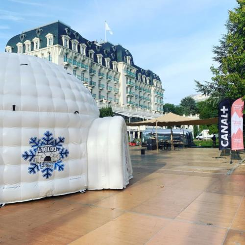 Escape Game Mobile dans un igloo
