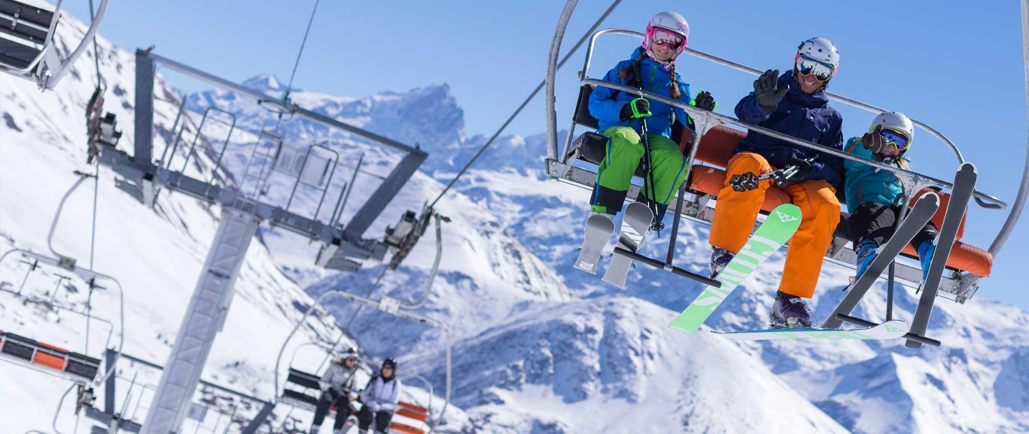 Télésiège à l'Alpe d'Huez